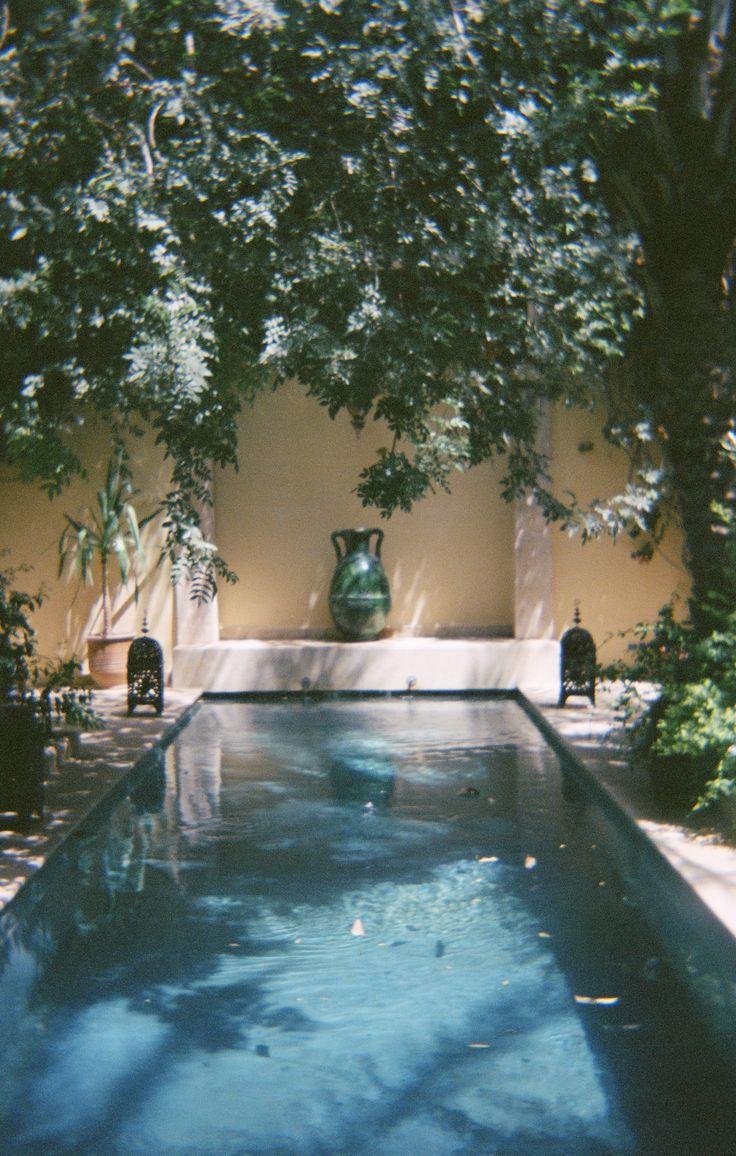 Eté paisible au Jardin Djahane. © 2015 Marion Lécrivain.