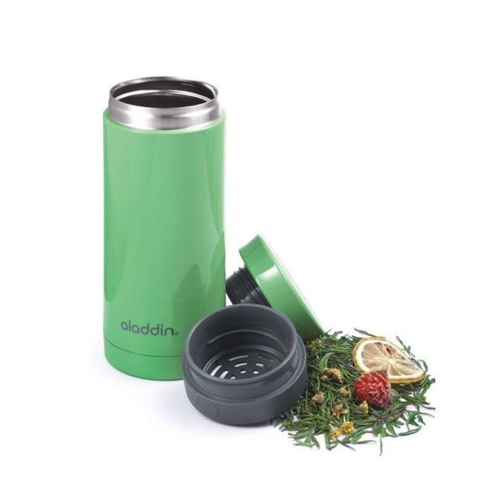 Kubek termiczny Aladdin Aveo z zaparzaczem do herbaty i kawy, zielony