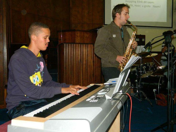 Chriswill Ventura and Eduan Steenkamp