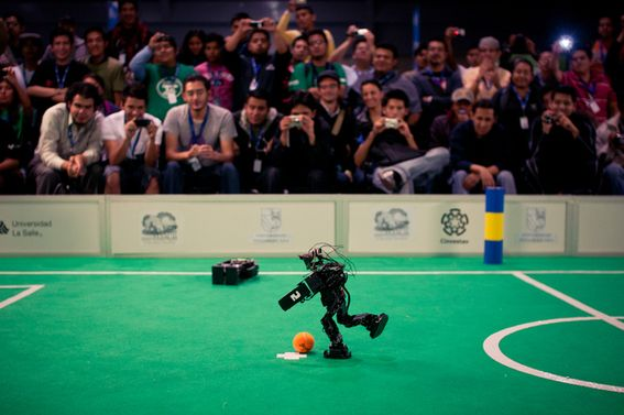 4-4-2 becomes 0101: inside the competitive world of robot football