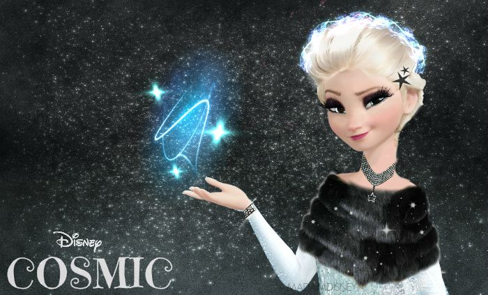 Elsa with cosmic powers. If anyone comes up with a name for her I will follow you.