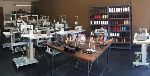 CowBoy CB4500 leather stitching machine and special sewing equipment – Hightex Germany