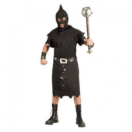 disfraces halloween hombre disfraz de verdugo estupendo modelo de ejecutor contiene tnica