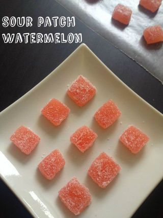 HOMEMADE SOUR PATCH WATERMELON