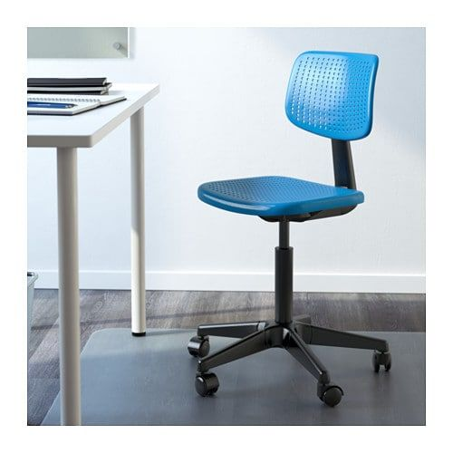 alrik swivel chair blue in 2019 jessica s place cool desk rh pinterest com