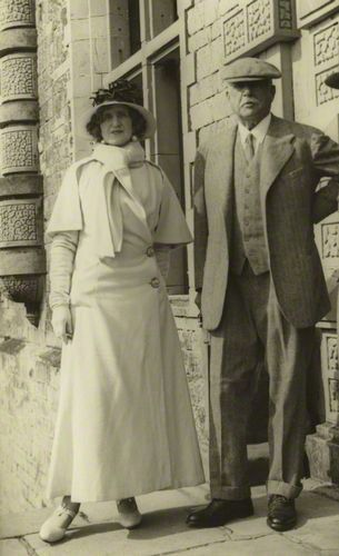 Lady Ottoline Morrell; William Arthur Cavendish-Bentinck, 6th Duke of Portland 1935