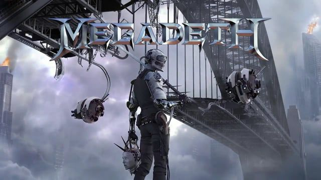 """""""Dystopia"""" will be released on January 22, 2016. The follow-up to 2013's """"Super Collider"""" was recorded earlier in the year in Nashville, Tennessee and was produced by MEGADETH mainman Dave Mustaine. The CD was mixed by Josh Wilbur, who has previously worked with LAMB OF GOD, ALL THAT REMAINS and GOJIRA. """"Dystopia"""" marks the recording debut of MEGADETH's new lineup, featuring founding members Mustaine (guitar, vocals) and David Ellefson (bass) alongside LAMB OF GOD drummer Chris Adler and…"""