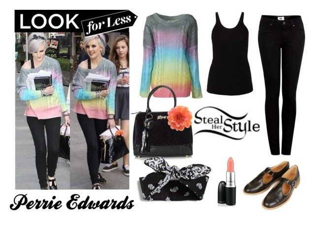 """""""Perrie Edwards Inspiration!!! :)"""" by broderickcaddy ❤ liked on Polyvore featuring T By Alexander Wang, Paige Denim and Lipsy"""