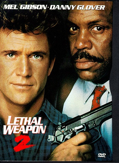 Lethal Weapon 2. White buddy cop in front again...