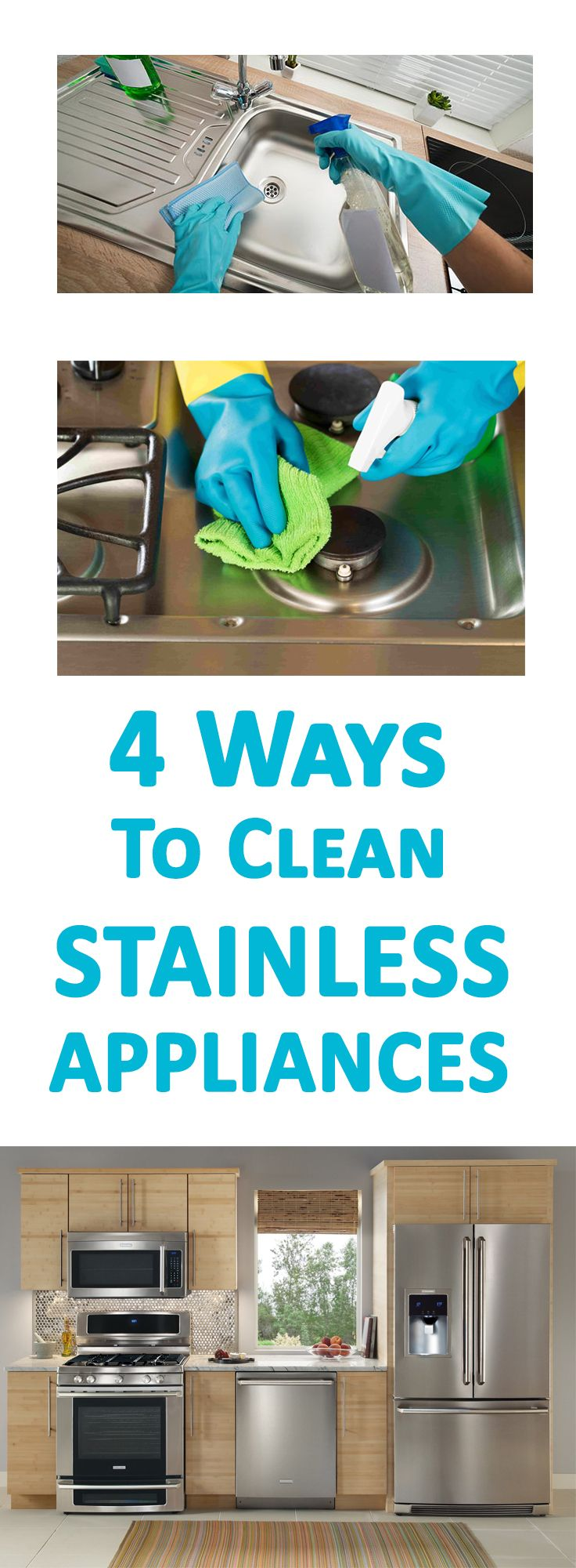4 Ways To Clean Stainless Appliances