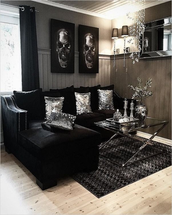 Black Living Room Furniture Ideas Black Living Room Black Sofa Living Room Decor Black Furniture Living Room