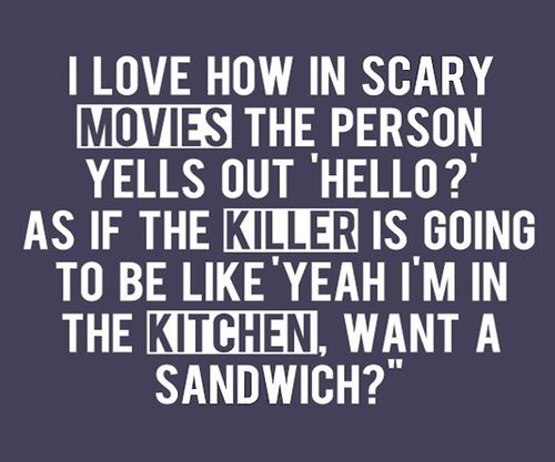 How many times have I asked the movies this?! LOL
