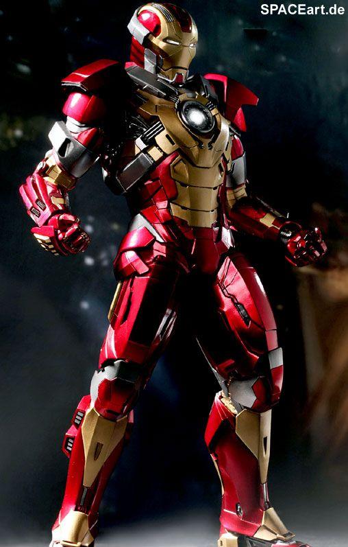Iron Man 3: Heartbreaker Mark 17, Voll bewegliche Deluxe-Figur ... http://spaceart.de/produkte/irm022.php