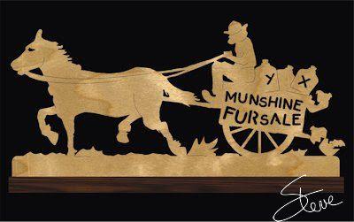 Horse and man on cart - moonshine for sale (Munshine fur sale) #alcohol…