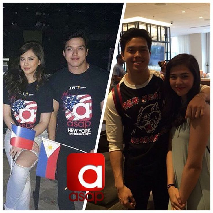 This is the handsome Elmo Magalona and the pretty Janella Salvador having a good time at ASAP Live in New York last September 3, 2016. Indeed, they had a good time after their success of Born for You. :-) #ElNella #BornforYou #JanellaSalvador #ElmoMagalona #ASAPLiveinNewYork