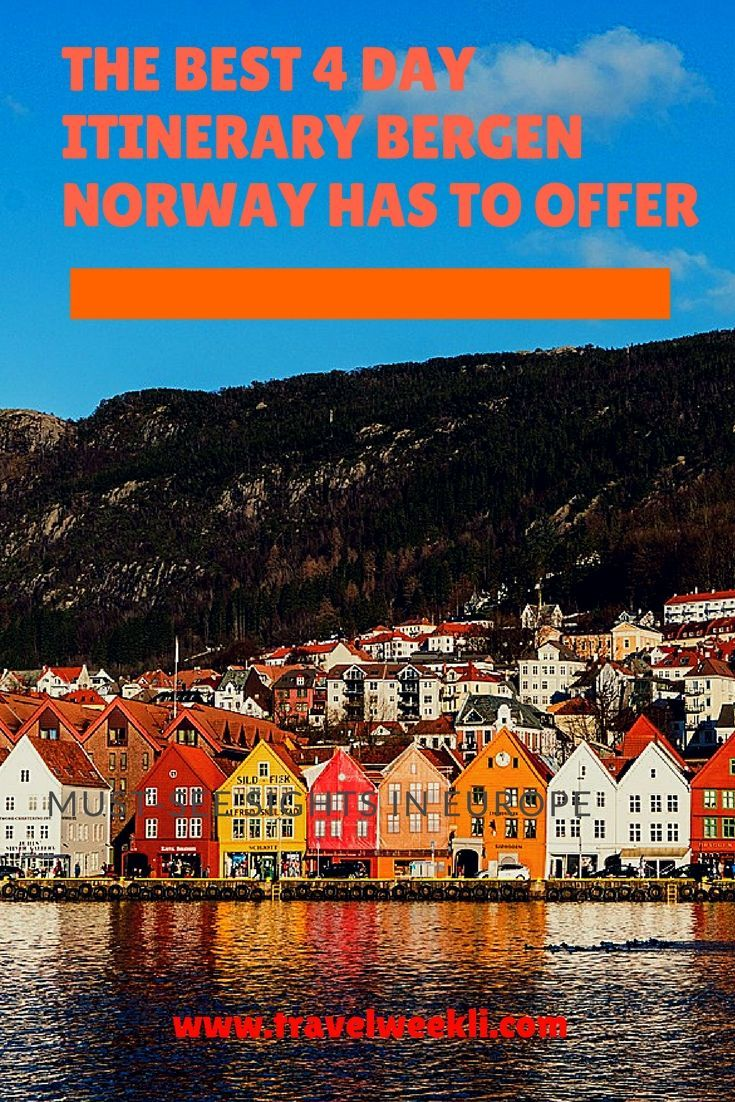 Why you need to visit Bergen Norway? Ride to the top of Mt. Floyen, explore Hanseatic history, and eat delicious seafood in scenic Bergen, Norway. Top stops and tips to make your visit perfect. | top spots in Bergen | Norway | best things to do in Bergen, Norway | discover beautiful Bryggen harbour.  #bregennorway#norway #traveltips