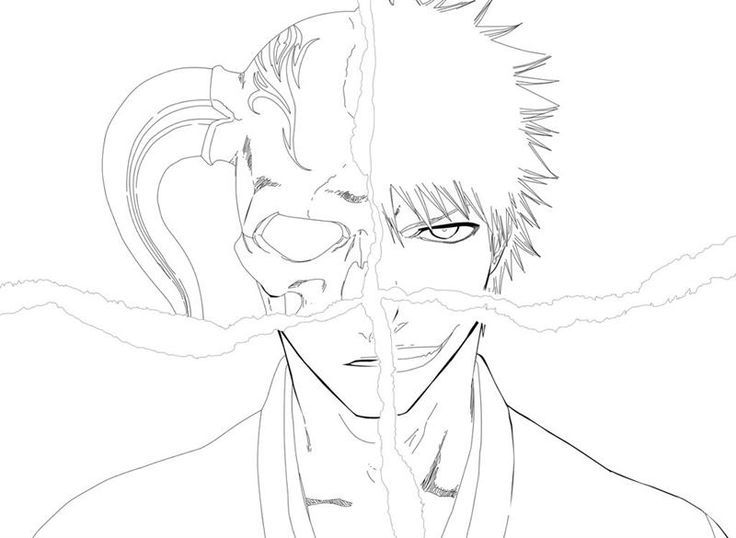 Bleach Color Page Cartoon Coloring Pages Super Coloring Pages Coloring Pages
