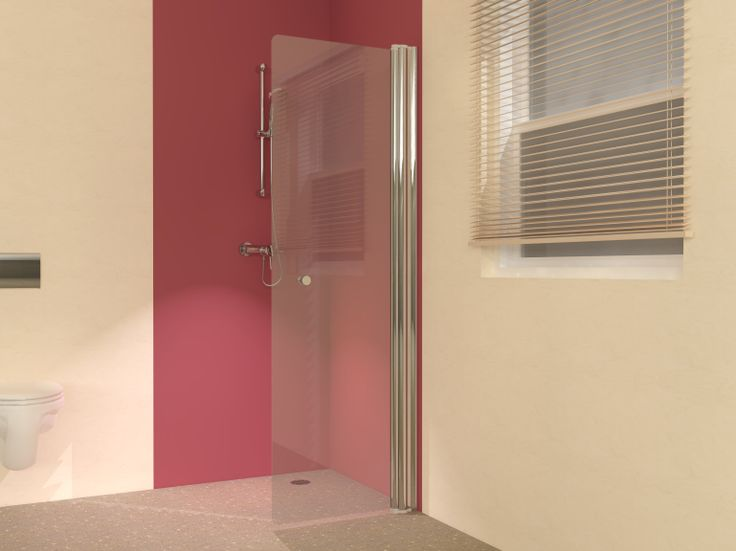 UniLine hinged wet room screens for better access in and out of your shower.