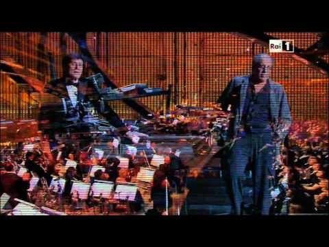 """Adriano Celentano e Gianni Morandi ♪ Ti penso e cambia il mondo """"Festival di Sanremo"""" 2012 - YouTube"""