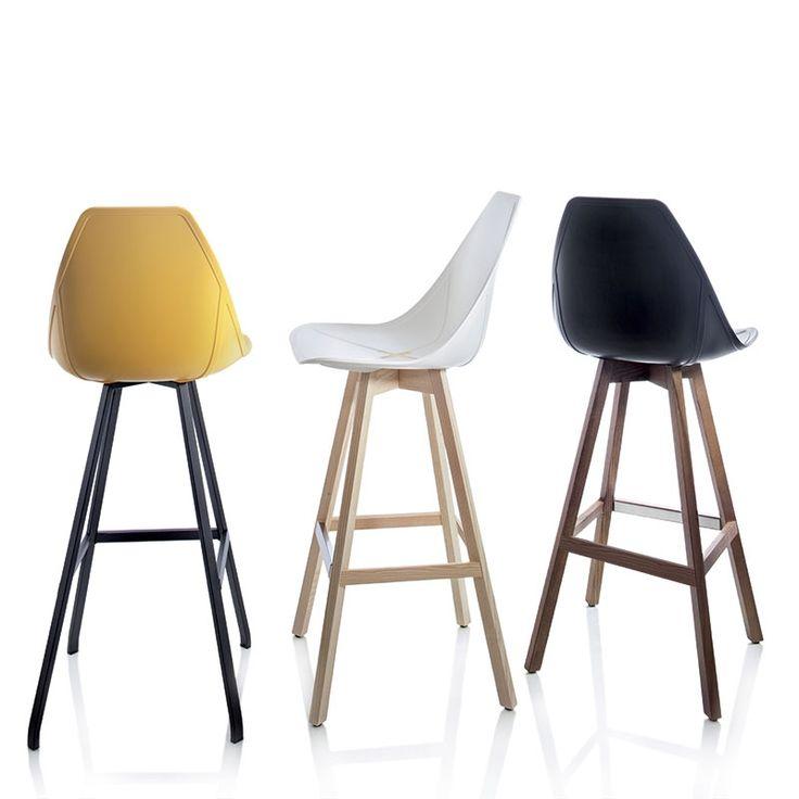 Alma Design X-Barkruk Wood 4062