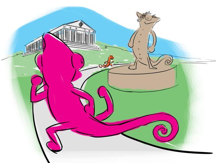 Pakiet olimpijski start - Kameleony na olimpiadzie