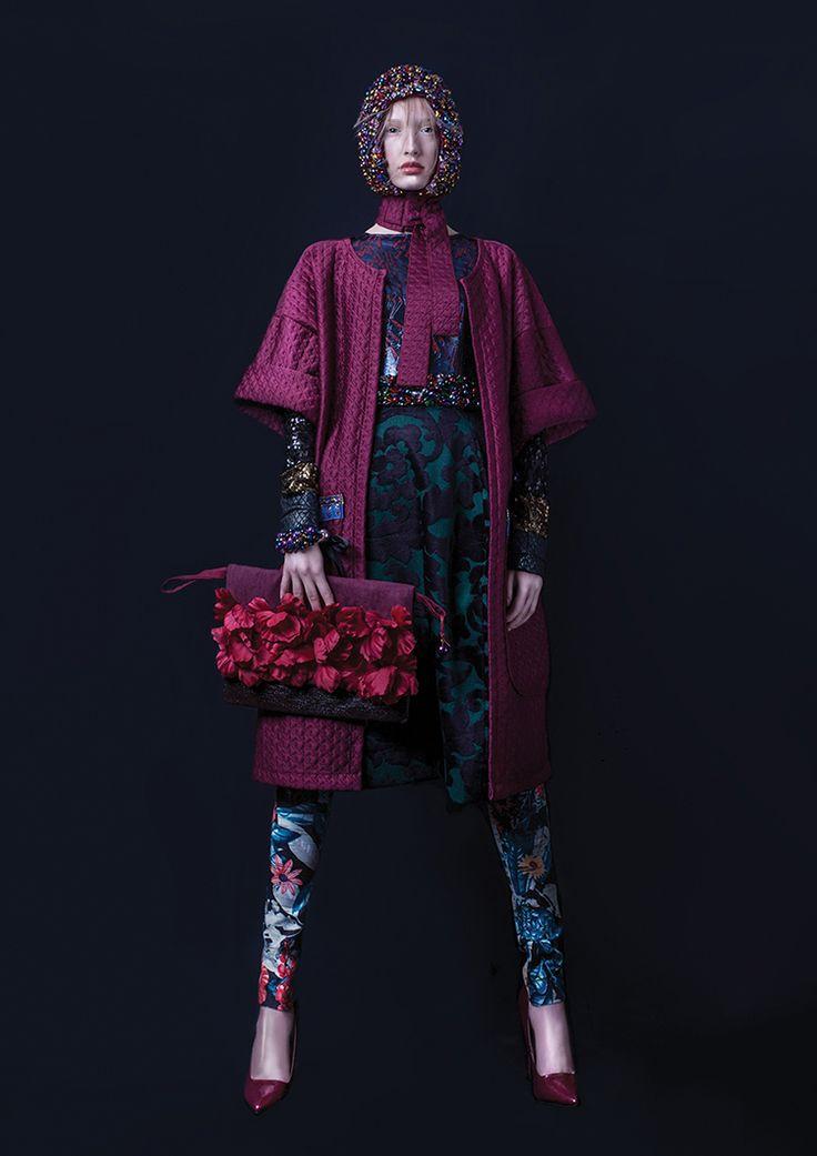 "Collection ""Voyage- Orient Express by Waleria Tokarzewska -Karaszewicz / www.facebook.com/tokarzewska Model: Karo / Como Model Management Mua/Hair: Ania Pyziolek / CLAUDIUS HAIR TRESER TEAM"