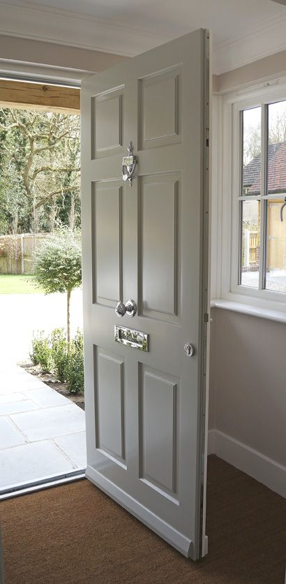 Traditional-style timber windows and doors from the Conservation™ range by Mumford & Wood have been specified for an impressive new-build property in the much sought after village of Danbury in Essex. A coordinated collection of double glazed Conservation™ products have been incorporated in this fabulous property including casement windows and a traditional and beautifully crafted solid timber entrance door with a part-glazed inner porch door for extra warmth and security