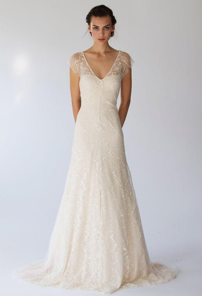 51 best 2014 Wedding Gown Trends images on Pinterest   Wedding ...