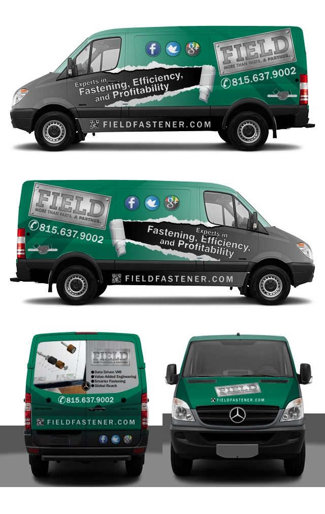 Help Field Fastener with a new VEHICLE WRAP