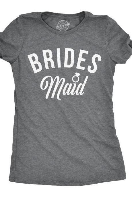 65d87a917e957 Bridesmaid Ring Shirt, Maid Of Honor Shirt, Wedding Day T Shirt, Bride  Shirt For Bachelorette Party, Funny Bridesmaid Shirt #weddings #wedding # bridesmaid ...