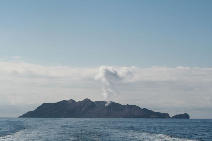 A smoking active volcano- what a day!