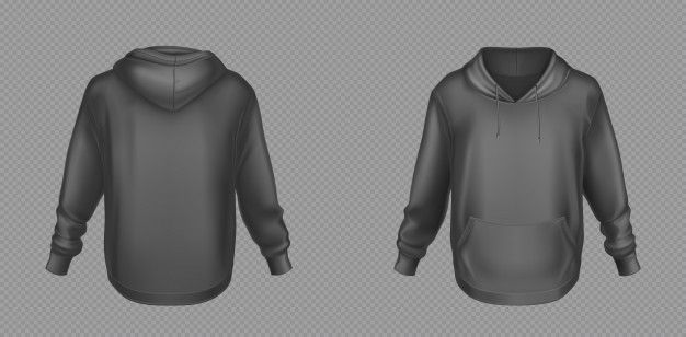 Download Download Hoody Black Sweatshirt Mock Up Front And Back Set For Free Casual Urban Style Urban Fashion Hoodies