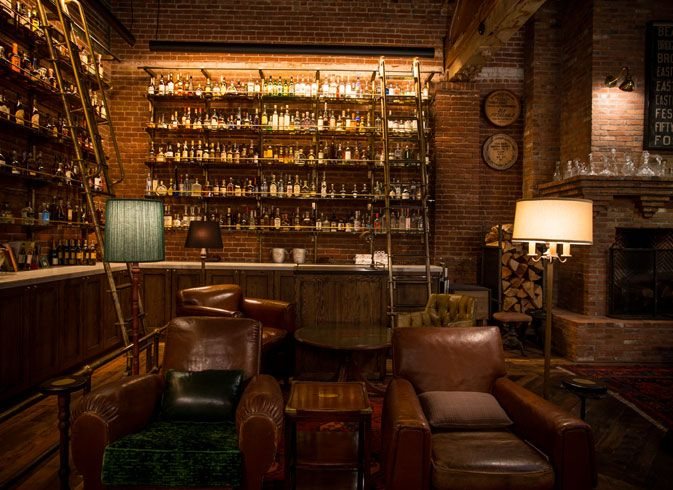 The Library   Multnomah Whiskey Library   Portland, Oregon by ELK Collective