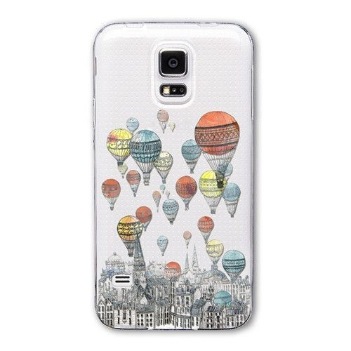 Various Fashion Designer Printed Soft Transparent Case for Samsung Galaxy S5 - 21 Designs