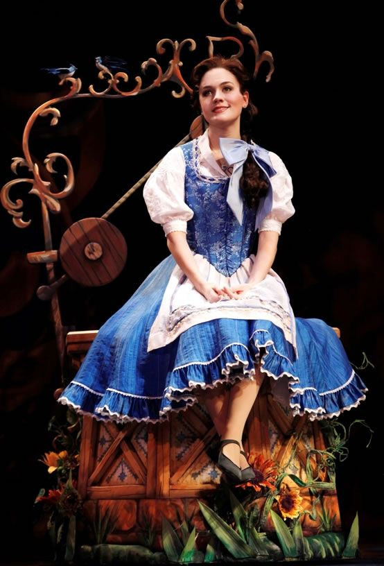 Belle in Beauty and the Beast, on Broadway.