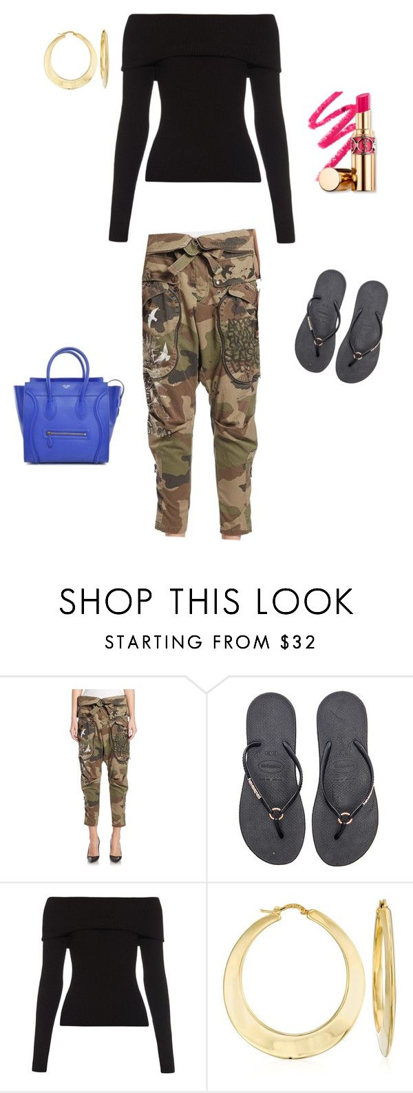 """Cady Heron"" by yunah1220 ❤ liked on Polyvore featuring Faith Connexion, Havaianas, A.L.C., Ross-Simons, women's clothing, women, female, woman, misses and juniors"