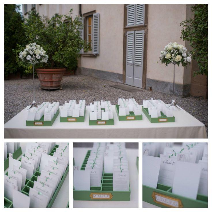 Il tableau de mariage - Le Mille e una nozze - Wedding planner Milano