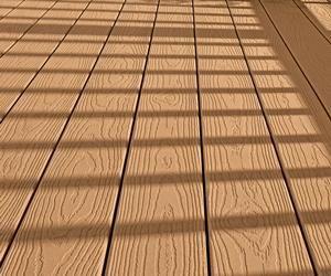 Composite Decking Material Review   Decks.com.compression Molded Composite  Decking Product.true
