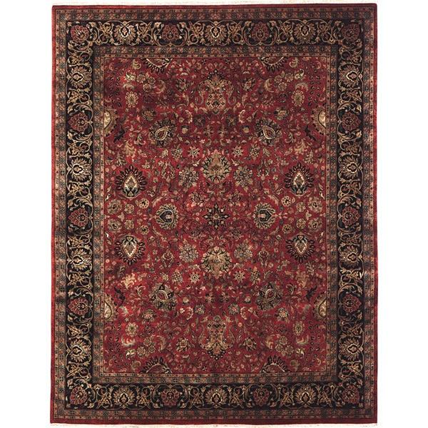 Taj Kashan Rust Stickley Rug Craftsman Rugs Amp Curtains