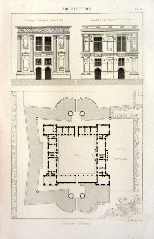17 best images about fabulous floor plans on pinterest for French gothic house plans