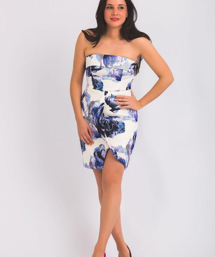 Vestido con estampado floral inspirado en Australia