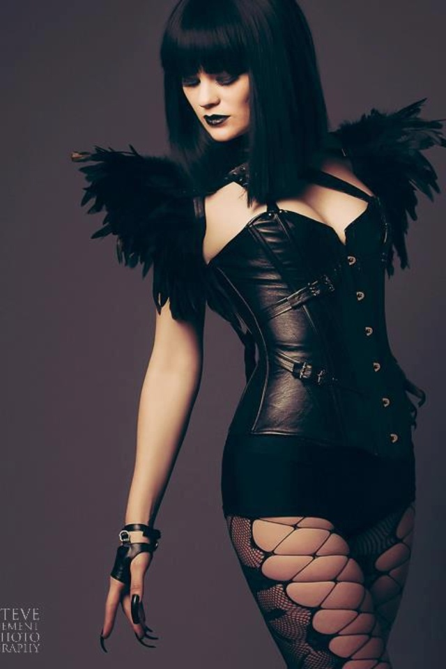 Sicca! Leather/ Feather  Photography by Steve Dement