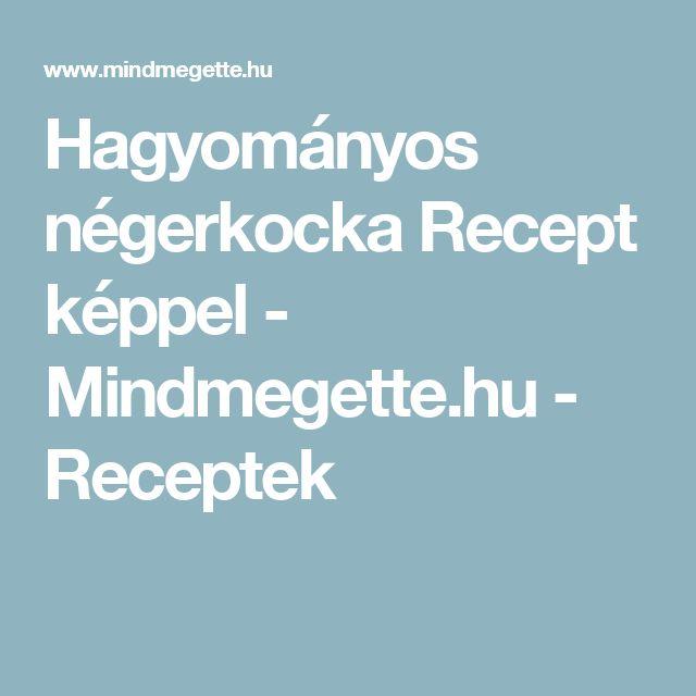 Hagyományos négerkocka Recept képpel - Mindmegette.hu - Receptek