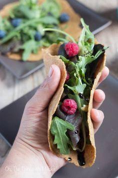 Como Hacer Tortillas Veganas de Linaza sin Gluten - Cosas Caseras