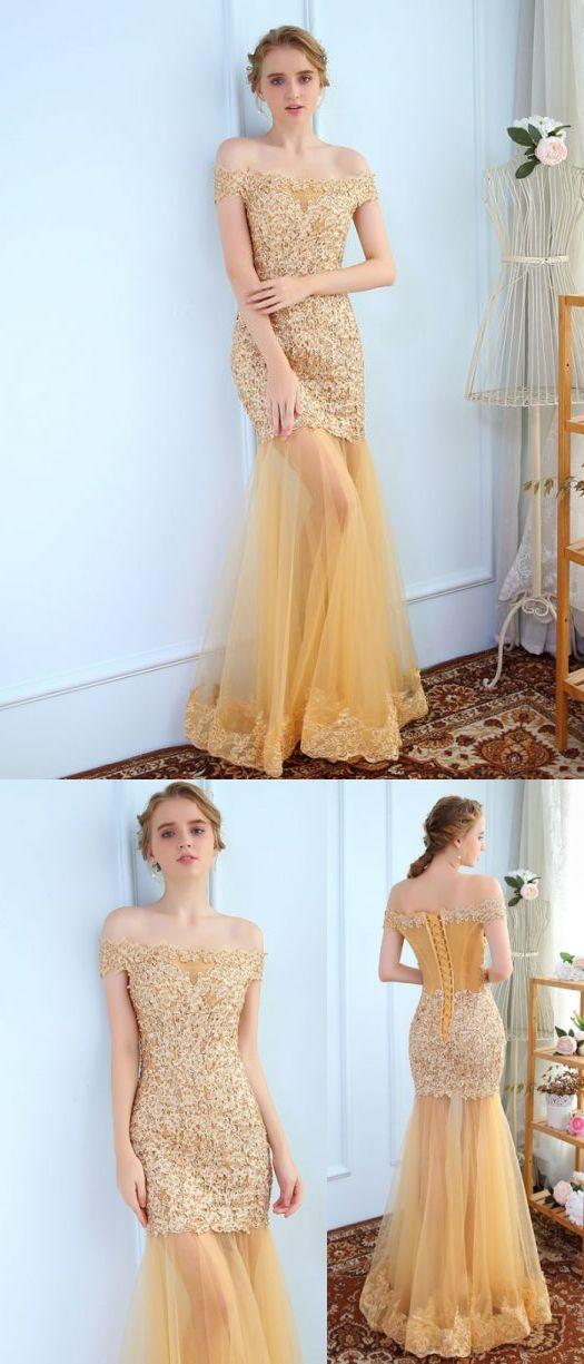Etui-Linie Carmen-Ausschnitt bodenlang Kurz Tülle Abendkleider # AM859