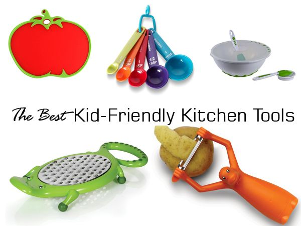 The best kitchen gadgets that are easy and safe to handle by children and will keep the mess to minimum. Cooking with kids has never been so much fun!