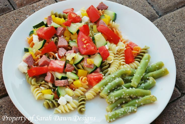 Sarah Dawn Designs: 20 Minute Meals - Light and Healthy Pasta