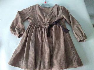 CositasguapasBurgos: Vestido Gocco 3-4 años
