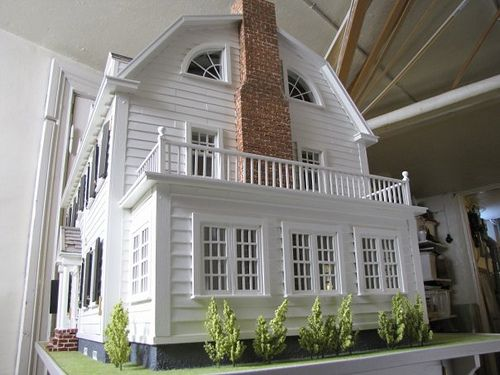 Oh my goodness, it's the Amityville house as a dollhouse! This is awesome!  | Flickr - Photo Sharing!