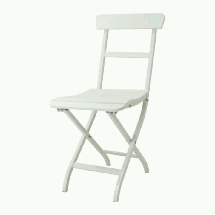 i have 4 of the predecessor to the Ikea Malaro folding chair, in a soft green.  strip and paint them medium charcoal grey for use indoors and out